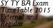 Pune-University-SY-TY-BA-Exam-TimeTable-2015-External-and-Regular