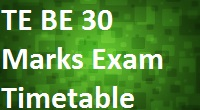 Engineering Exam Timetable 2015