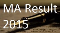 Unipune MA Exam Result 2015
