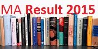 Pune University Unipune MA Result 2015