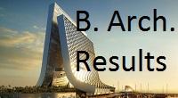Pune Unviersity B. Arch. Result 2015