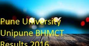 unipune bhmct result pdf