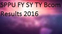 savitribai phule pune university fy sy ty bcom results